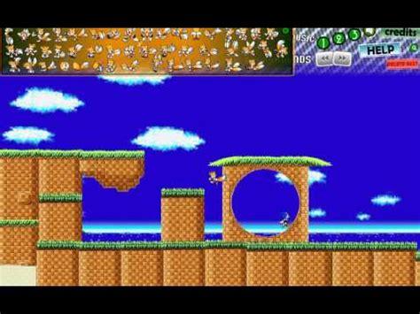 sonic fan games online image gallery sonic scene