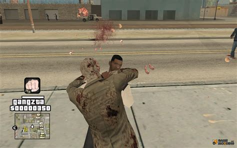 download mod game zombie zombie apocalypse for gta san andreas