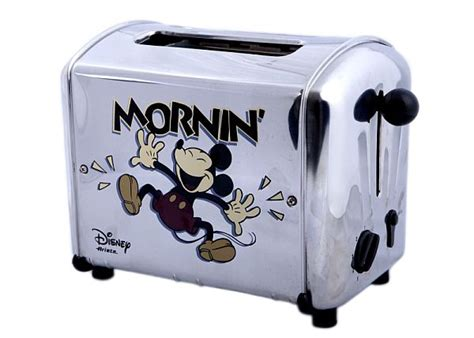 Mickey Mouse Toaster five musical toasters for an entertaining breakfast hometone