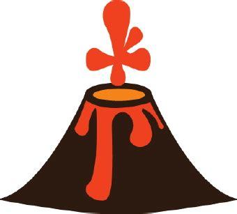 clipart volcano volcano clip art