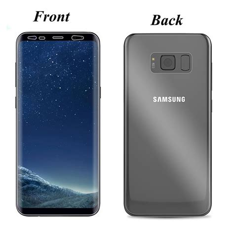 S6 Edge Plus 3d Carbon Back Screen Guard Anti Gores Karbon Not Garsk ᐅ2pcs front and ツ 175 back back cover screen protector for samsung ᗚ galaxy galaxy s6 edge