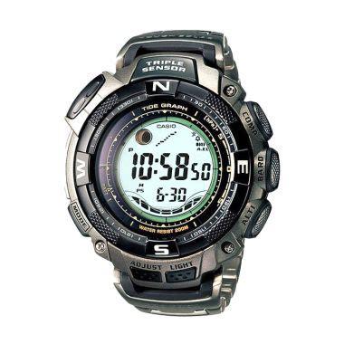 Jam Tangan Casio Yang Ada Kompasnya jual casio solar sensor protrek prg 130t 7vdr titanium jam tangan pria harga