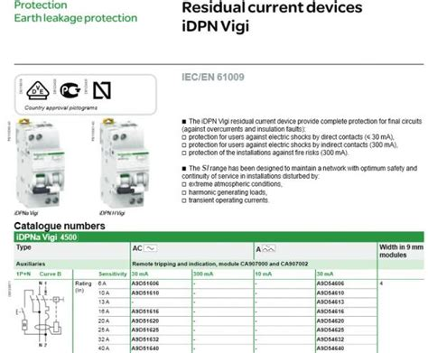 schneider rccb wiring diagram residential electrical