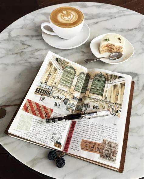 decorare diario 1001 idee per diario di viaggio ricordi foto e collage