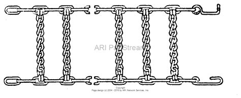 snapper  tire chain kit     parts diagram  tire chains