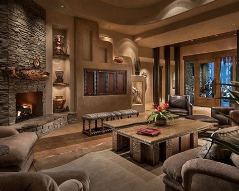 contemporary southwest living room interior design home
