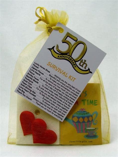 s novelty gifts 50th golden wedding anniversary survival kit novelty gift