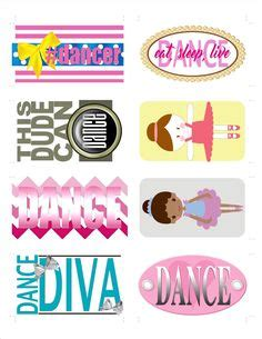 printable dance tags 1000 images about 5 6 7 8 dance team on pinterest