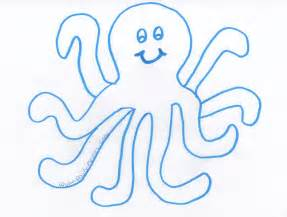 octopus template daily messes sea lunch octopus day