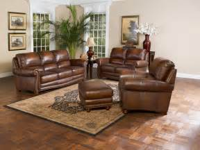 Leather Livingroom Furniture by Leather Living Room Furniture