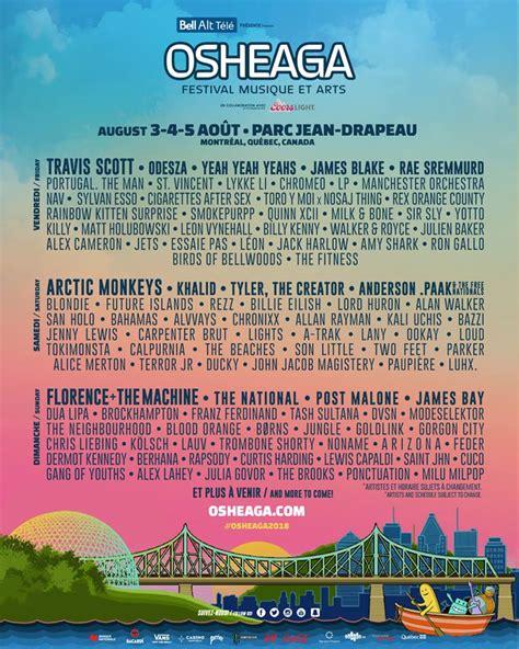 san holo setlist the complete osheaga 2018 lineup is finally here bad