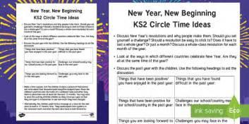 new year ks2 ideas ks2 new year circle time teaching ideas new year new new