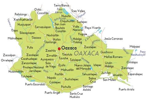map southern mexico this is a map of oaxaca oaxaca is province located in