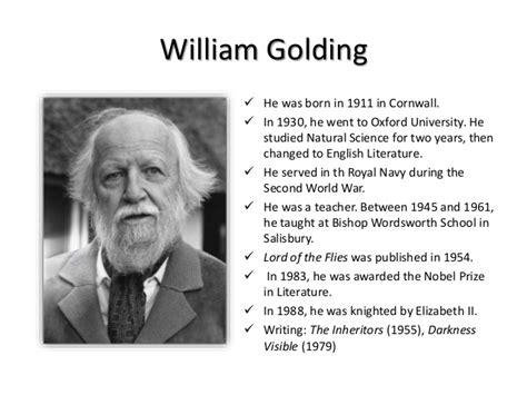William Golding Lord Of The Flies lord of the flies