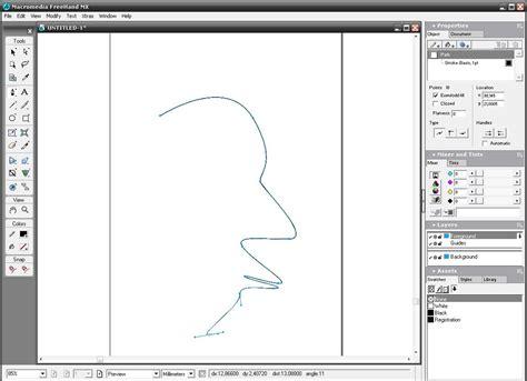 Macromedia Drawing Software