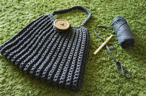 Textilgarn Anleitung Decke by Taschen H 228 Keln Mit Textilgarn My