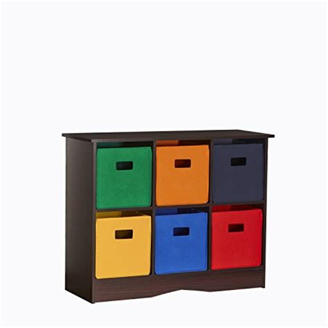 River Ridge Bookcase Save 61 Riverridge Kids 6 Bin Storage Cabinet Espresso
