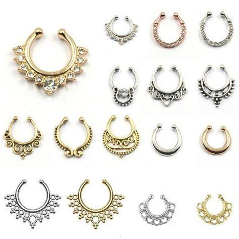 9 unique septum piercing jewelry worth considering
