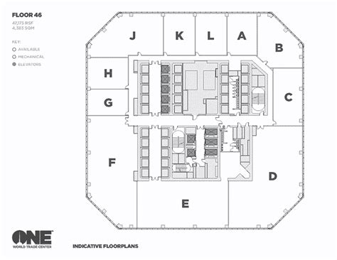 Wtc Floor Plan | world trade center floorplans the cleverest