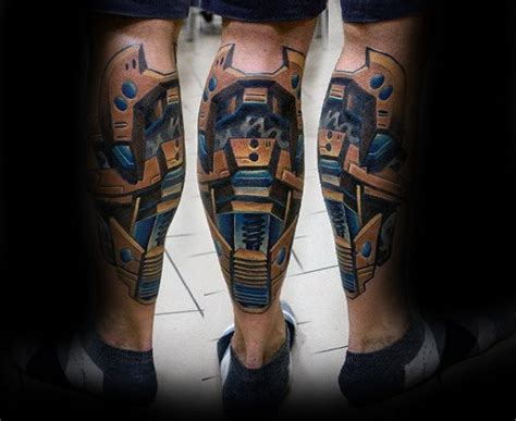 3d tattoo ideas for men 50 3d leg designs for manly ink ideas