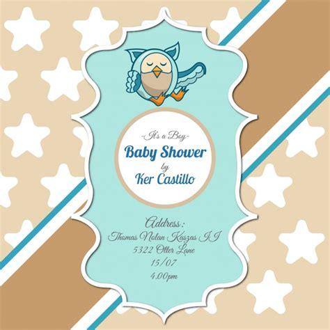 hacer tarjetas de baby shower de buho descargar programa para hacer invitaciones de baby shower