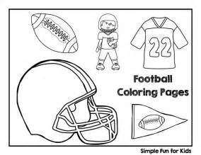 color football football coloring pages simple for