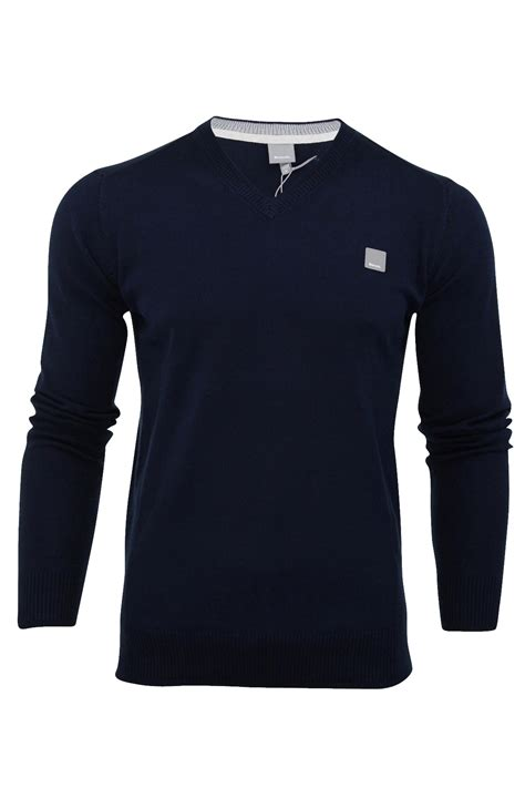 mens bench jumpers mens jumper bench hydriant cotton knit sweater crew neck