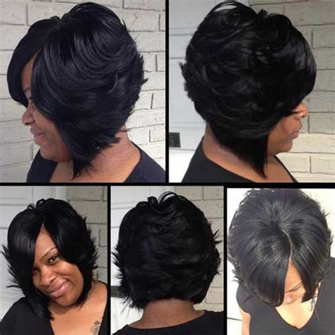 Black Layered Hairstyles by Black Bob Haircuts 2015 2016 Bob Hairstyles 2017