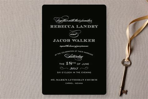 wedding invitations verbiage your guide to wedding invitation wording and etiquette