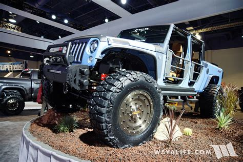 jeep bandit 2016 sema lund starwood bandit jeep jk wrangler