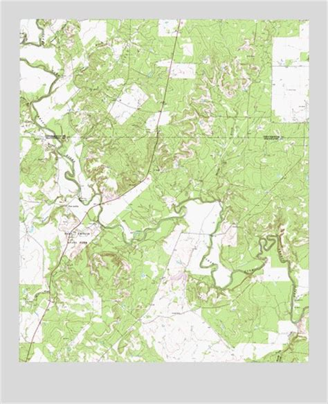 fort griffin texas map fort griffin tx topographic map topoquest