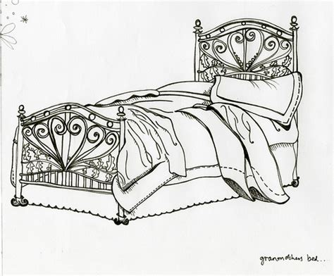 bed sketch bed sketch flickr photo sharing