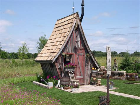 Shed Cottages by 5 Fairytale Inspired Homes Around The World