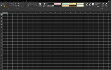 excel cells default background  dark microsoft community