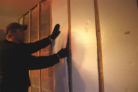 insulating basement walls extreme how to blog