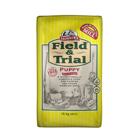 and rice puppy food skinners field trial puppy food chicken rice 15kg feedem