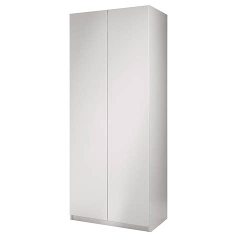Armoire Pax Ikea Blanc by Pax Armoire 2 Portes Fardal Brillant Blanc Blanc