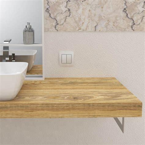 mensola appoggio lavabo mensola per lavabo in legno massello mensole lavabo