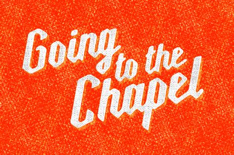 Going To The Chapel by Millie Fonts By Kyle Wayne Benson