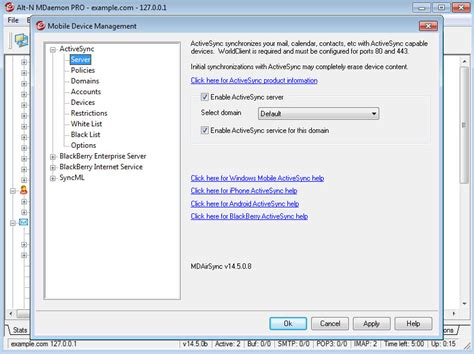activesync mobile device management configuraci 243 n android con activesync