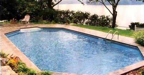 grecian style pool semi inground pools pinterest