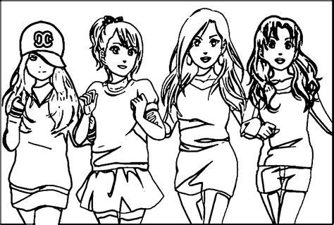 Best Friend Coloring Pages Coloringsuite Com Best Friends Forever Coloring Pages For Free