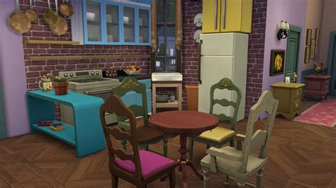 friends apartment the one where you can relive the friends tv show in the sims viralscape