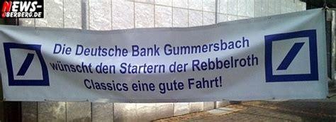 deutsche bank gummersbach oberbergischer kreis oldtimer rallye brummte durchs