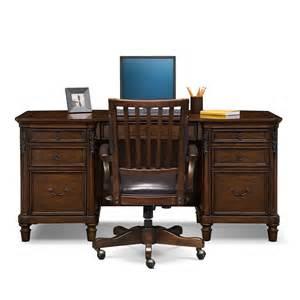 ashland furniture ashland executive desk and chair set cherry american