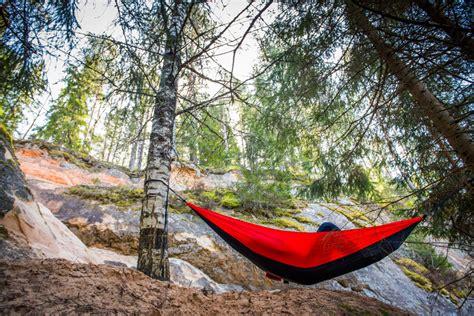 scheune hinzistobel portable tree hammock yes4all blue cotton cing