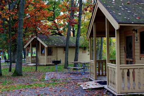 Pet Friendly Cabins Michigan by Pinconning Park