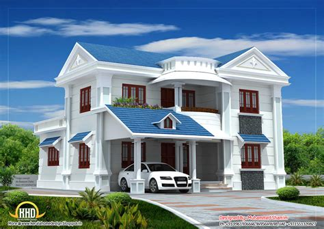 beautiful houses plans beautiful house elevation 2317sq ft kerala home design and floor plans