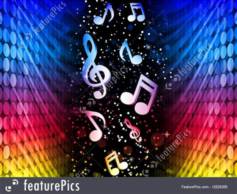 party music music party abstract colorful waves on black background
