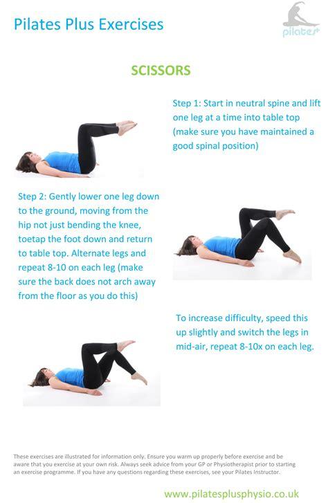 pilates at home scissors for lumbo pelvic alignment and abdominal strength go pilates